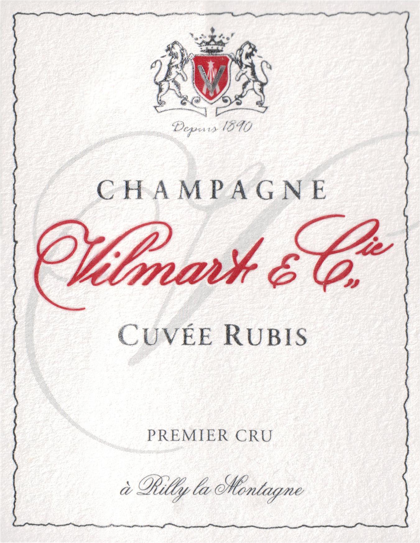 Vilmart & Cie Cuvee Rubis Brut Rose