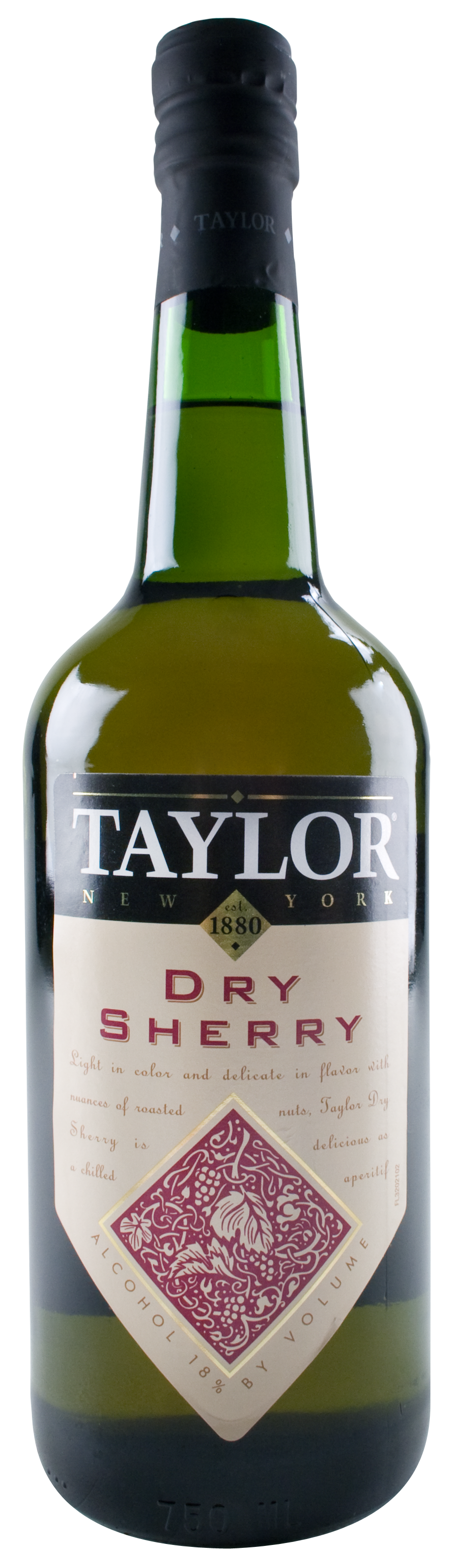 Taylor Dry Sherry Wine Library