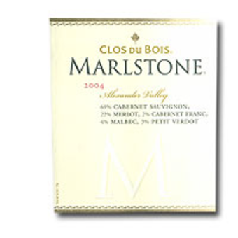 Label shot for 2004 Clos Du Bois Marlstone Red