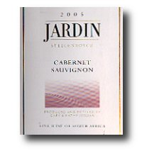 2005 jardin cabernet sauvignon wine library for Jardin winery