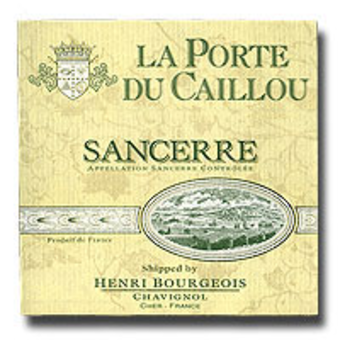 2007 bourgeois sancerre la porte caillou wine library for Laporte library