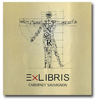 Label shot for 2006 Ex Libris Cabernet Sauvignon