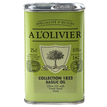 A L'olivier Olive Oil With Basil