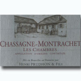 2005 henri prudhon les chambres chassagne montrachet rouge for Chambre red wine