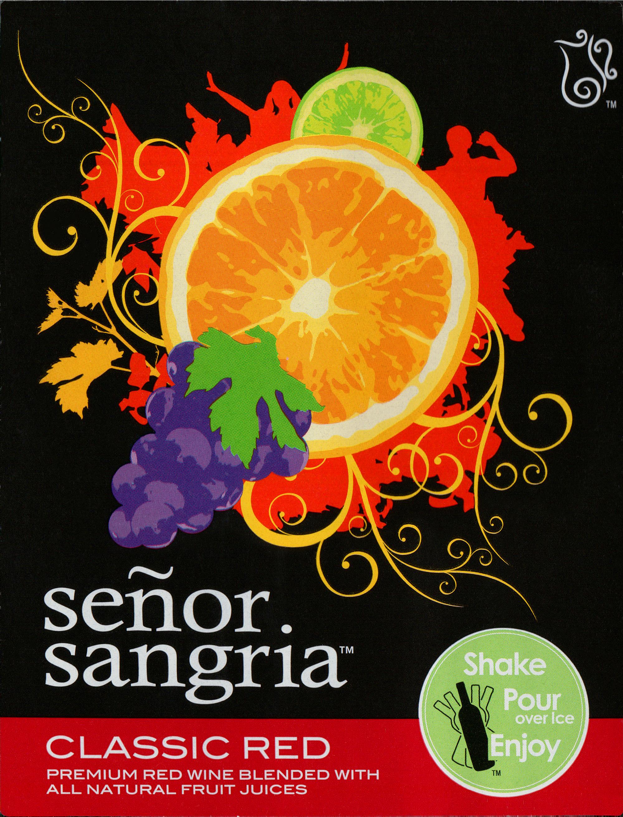 Senor Sangria Classic Red