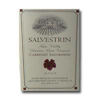Salvestrin Napa Valley Cabernet Sauvignon Salvestrin Estate Vineyard 2002