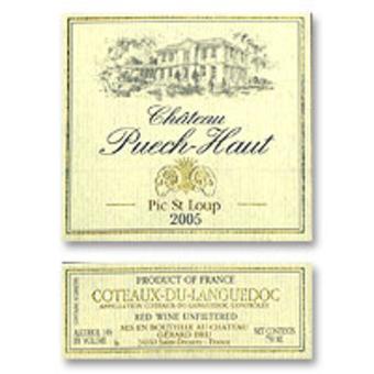 Label shot for 2005 Puech Haut Clos Du Pic