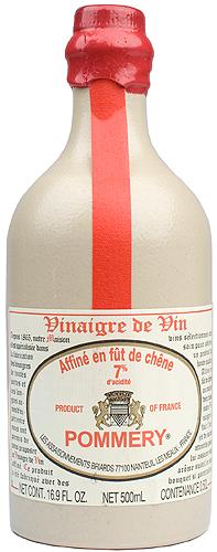 Pommery Aged Red Wine Vinegar In Stone Jar Wine Library