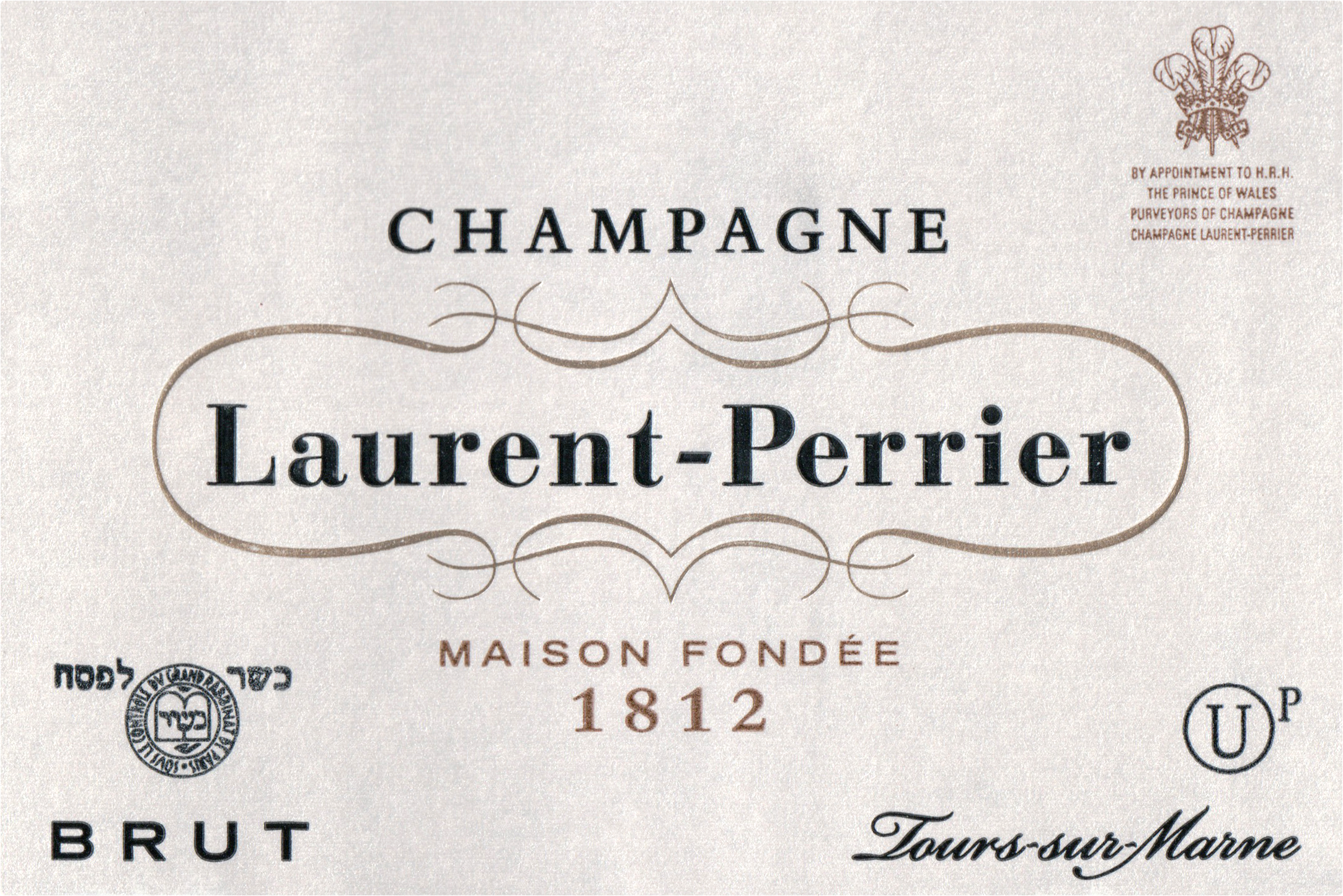 Laurent Perrier Brut Kosher