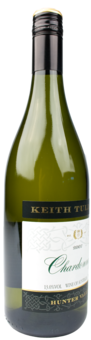 Bottle shot for 2007 Keith Tulloch Chardonnay