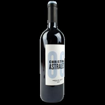 Bottle shot for 2006 Astrales Christina Ribera Del Duero