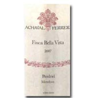 Label shot for 2007 Achaval Ferrer Bella Vista