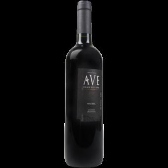 Bottle shot for 2007 Ave Malbec Gran Reserva