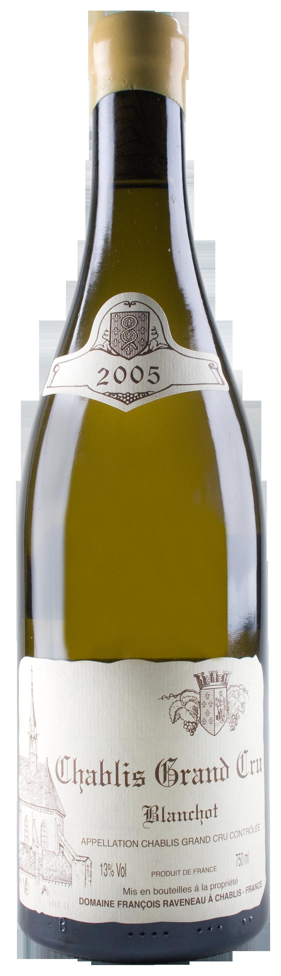 2005 domaine raveneau chablis blanchots wine library - Grille pain transparent ...