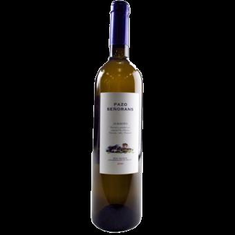 Bottle shot for 2010 Pazo Senorans Albarino