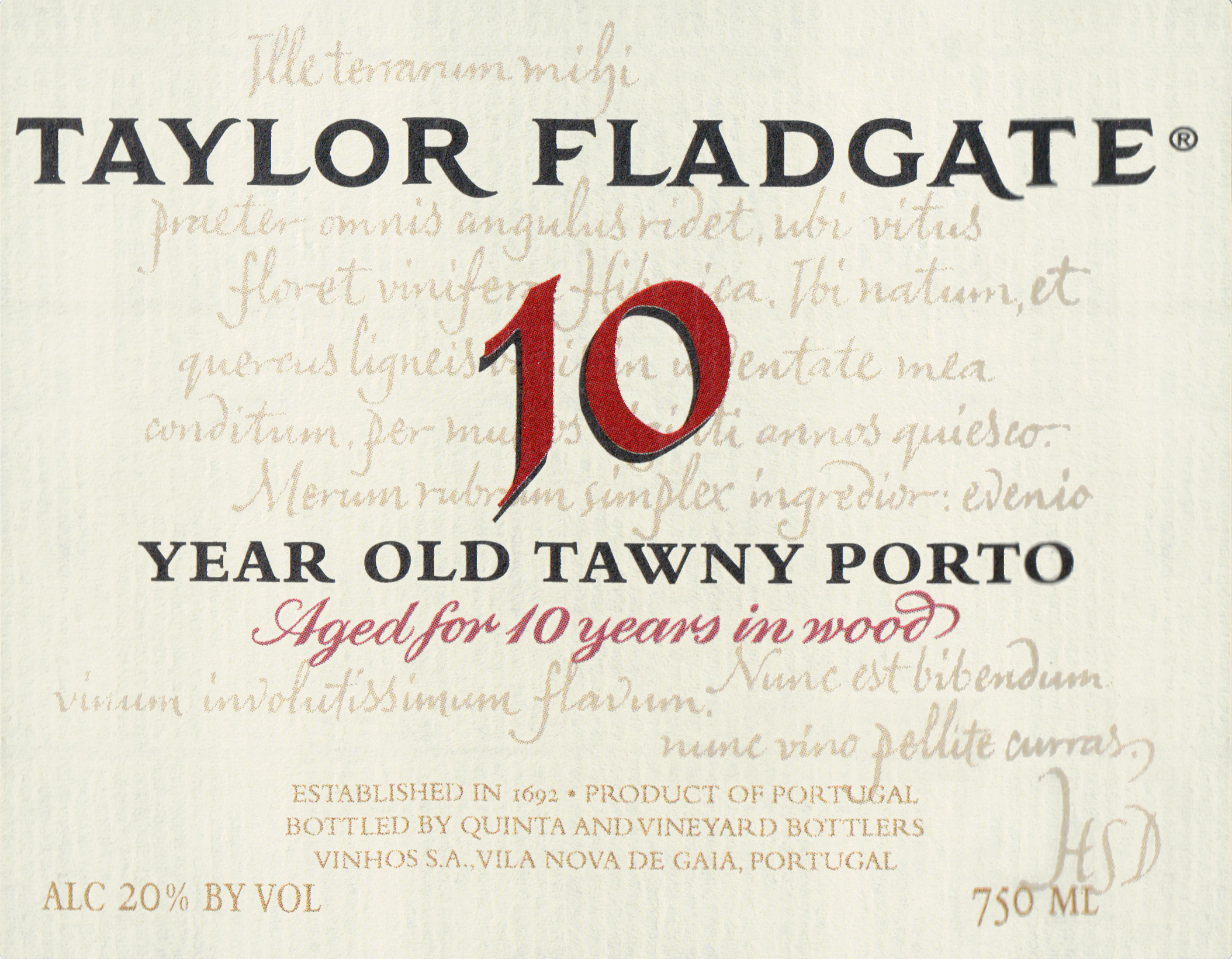 Taylor Fladgate 10 Year Tawny Port