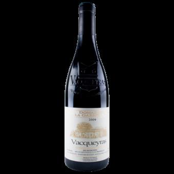 Bottle shot for 2009 Domaine La Garrigue Vacqueyras