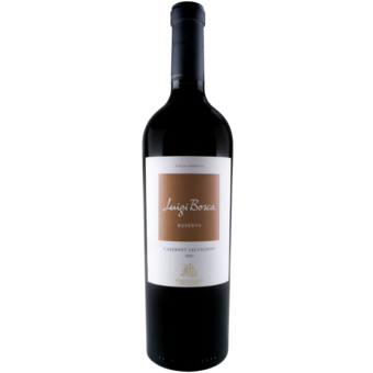 Bottle shot for 2007 Luigi Bosca Reserva Cabernet Sauvignon