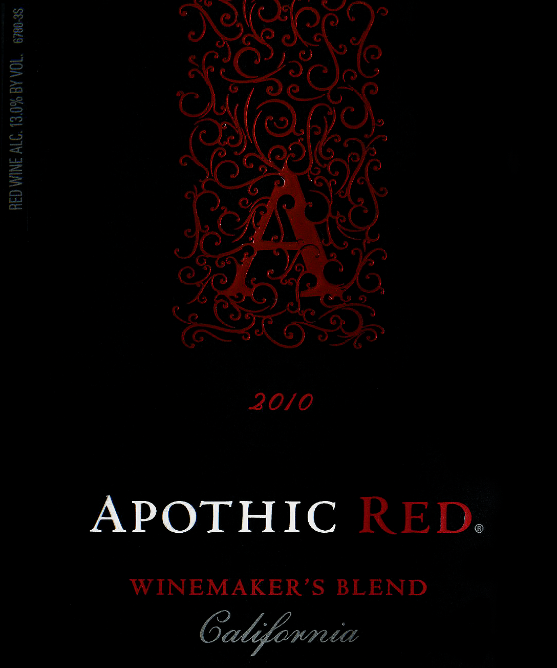 2010 Apothic Winemakers Red Blend Wine Library