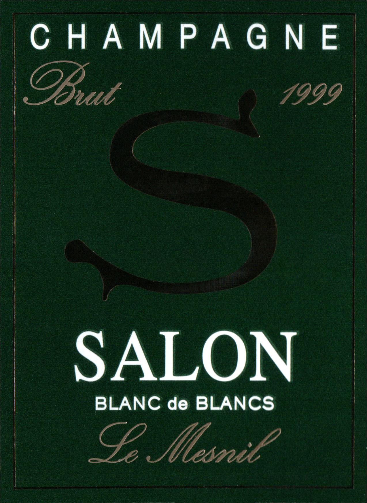 1999 Salon Le Mesnil Blanc De Blancs Grand Cru | Wine Library