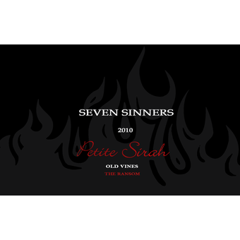 2010 Seven Sinners Petite Sirah Formerly Wooden Nickel Wine Library