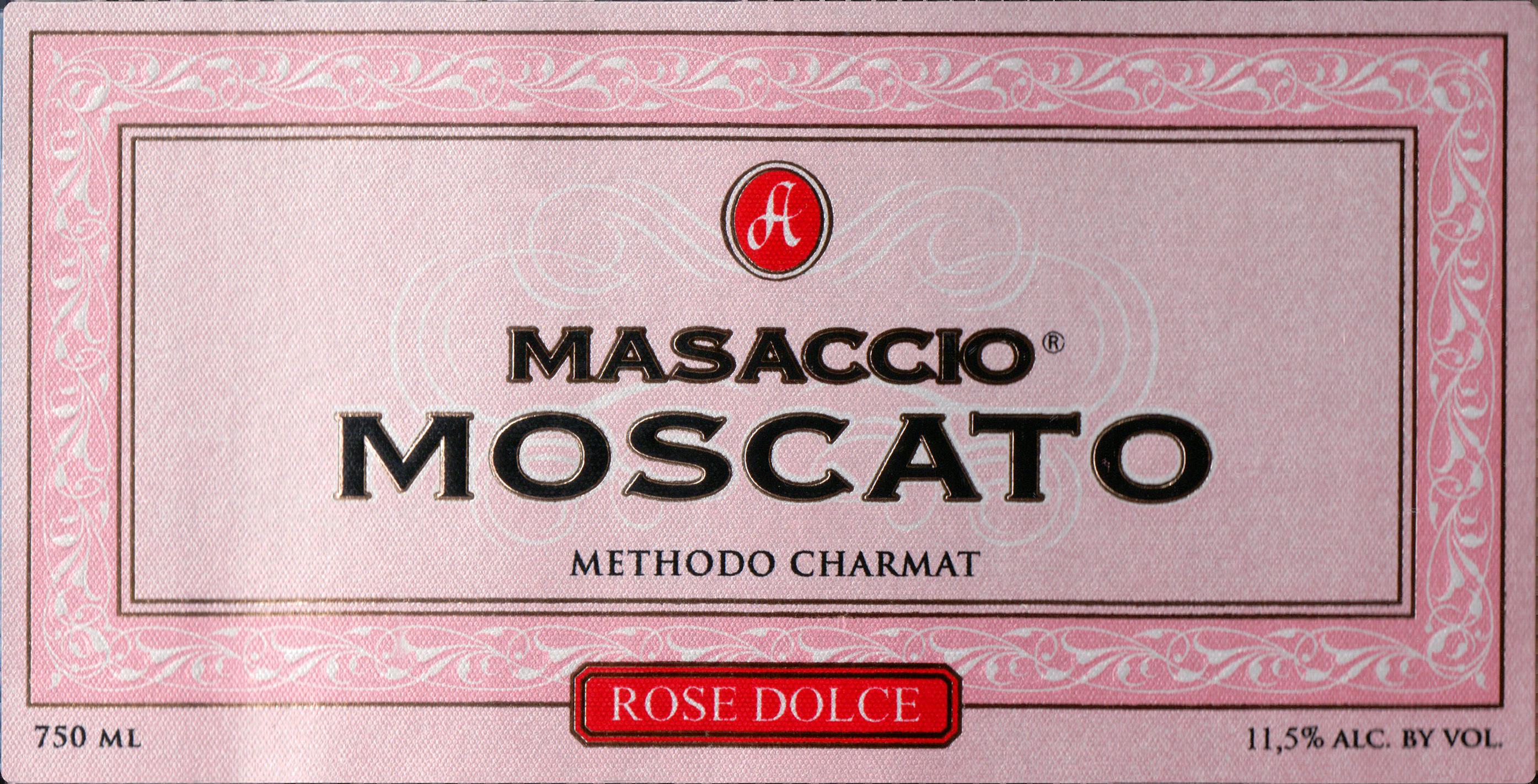 Masaccio Rose Moscato
