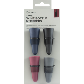 Bottle shot for  Rabbit Silicone Stoppers (4)
