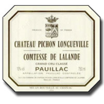 1995 Chateau Pichon LalandeBlend from France