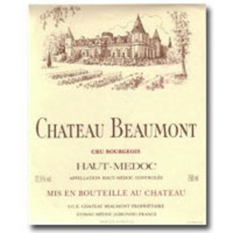 2005 chateau beaumont wine library for Chateau beaumont