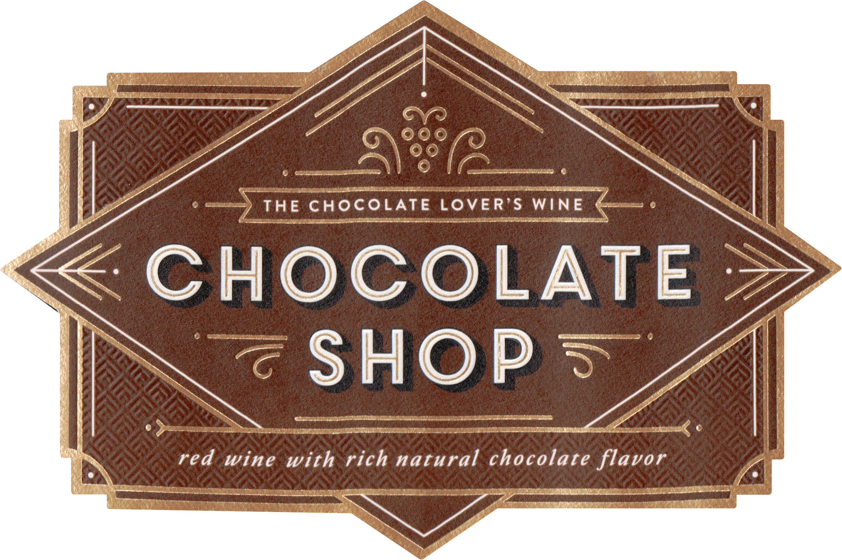 Chocolate Shop Chocolate Red