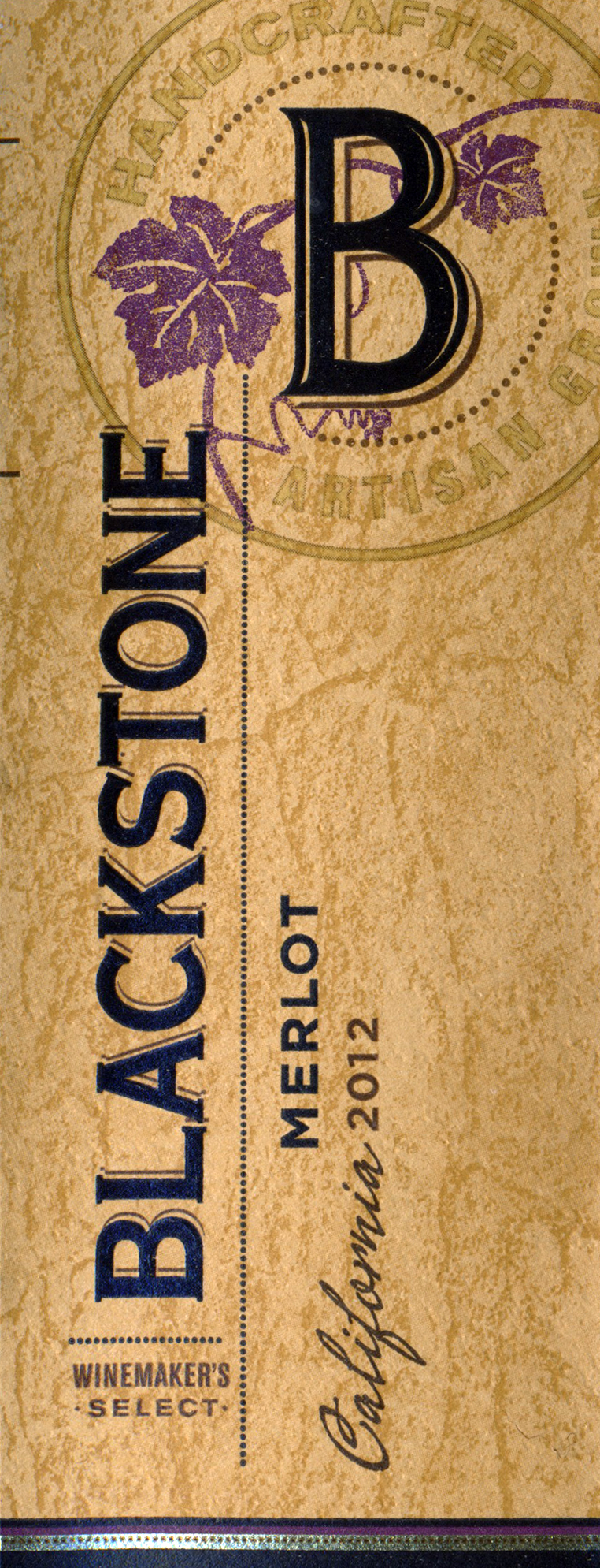 2012 Blackstone Merlot