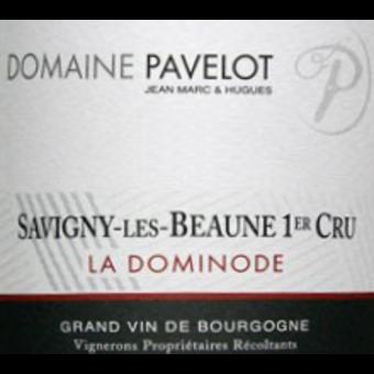 Label shot for 2012 Pavelot Savigny Les Beaune Dominodes