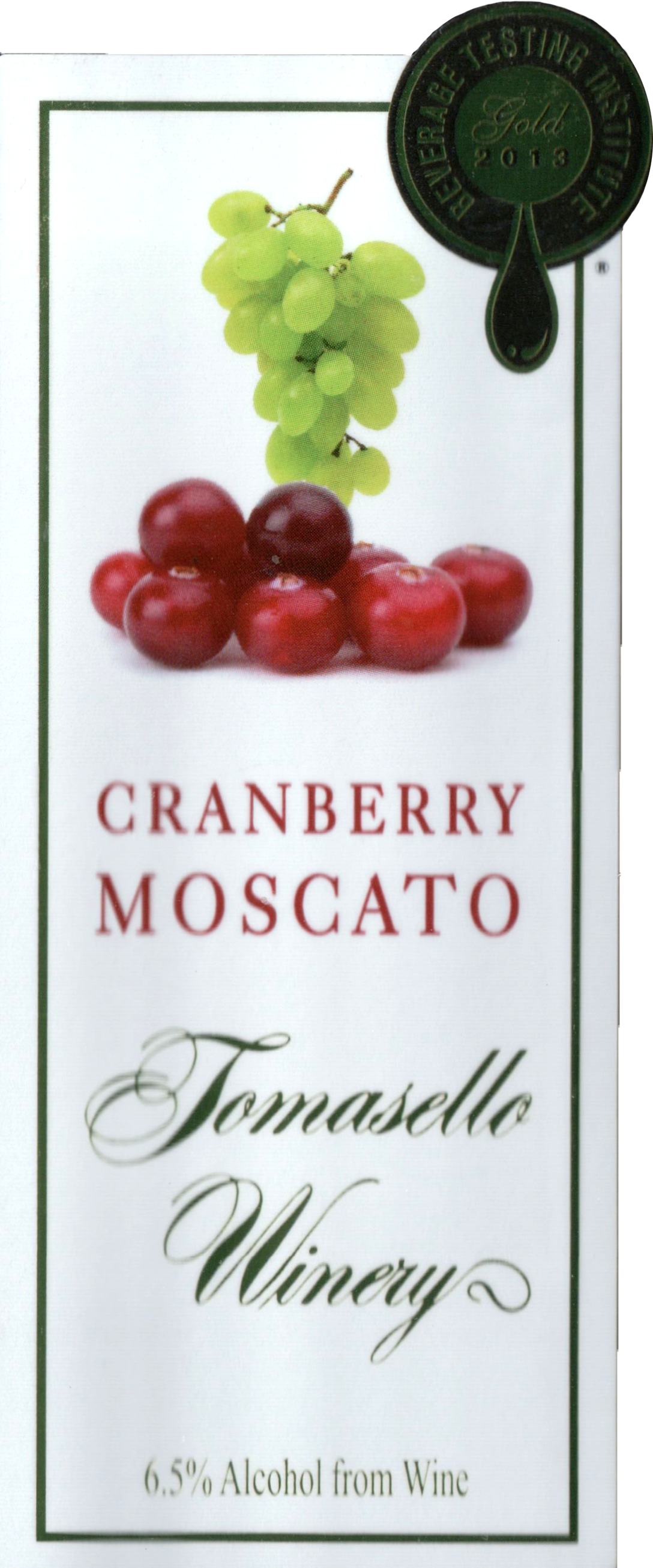 Tomasello Cranberry Moscato