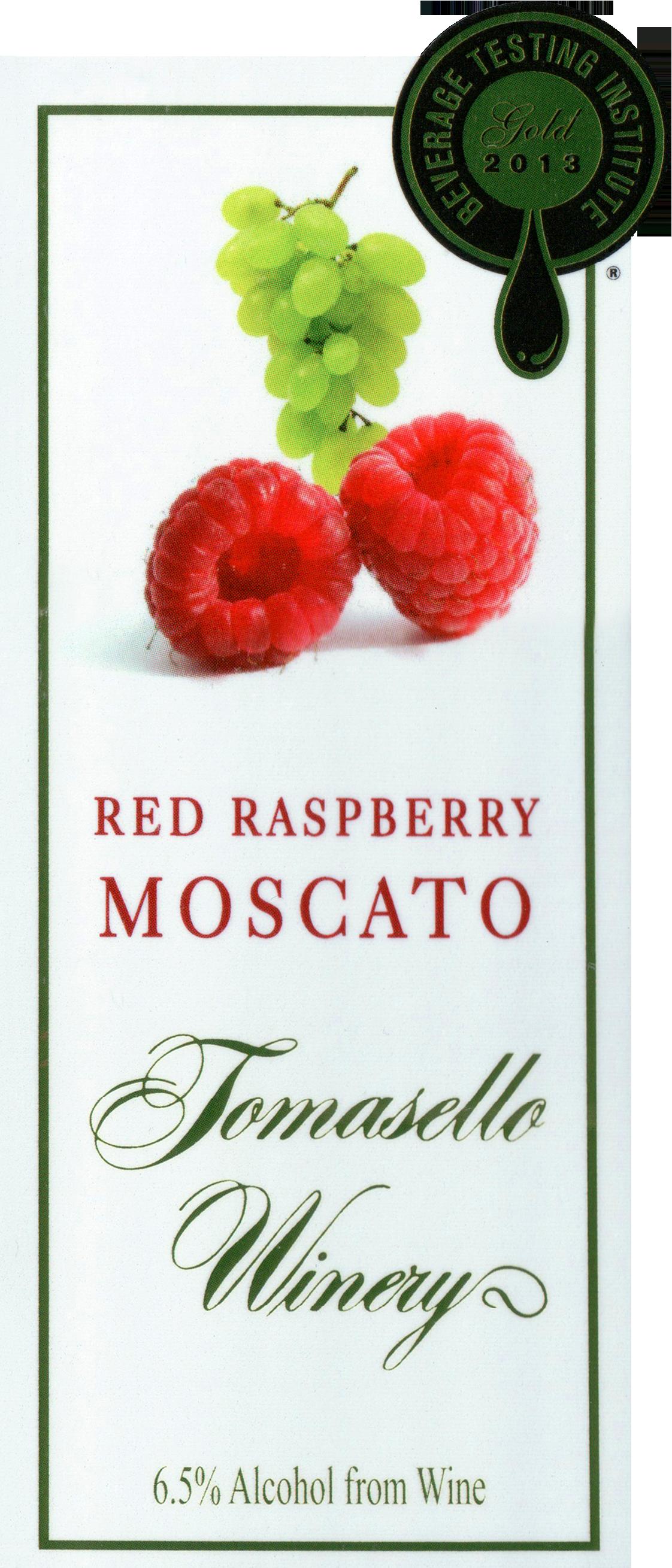 Tomasello Red Raspberry Moscato