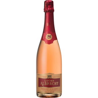 Bottle shot for  Lucien Albrecht Cremant D'alsace Brut Rose