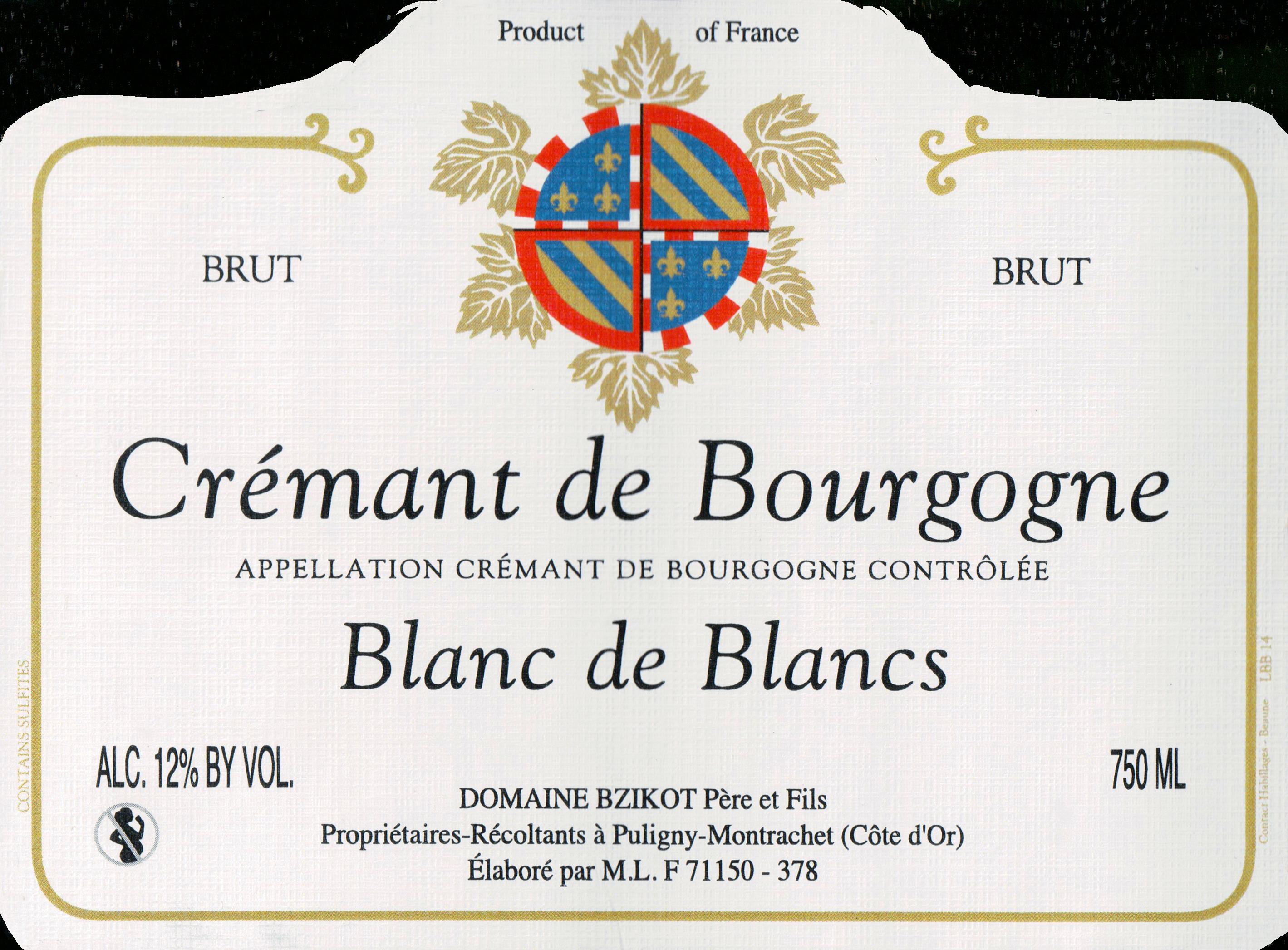 Bzikot Blanc De Blancs Brut