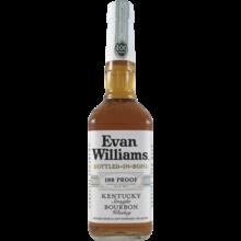 Evan Williams Bottled In Bond White Lable Bourbon