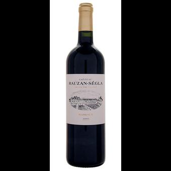 Bottle shot for 2005 Chateau Rauzan Segla Margaux Half Bottle