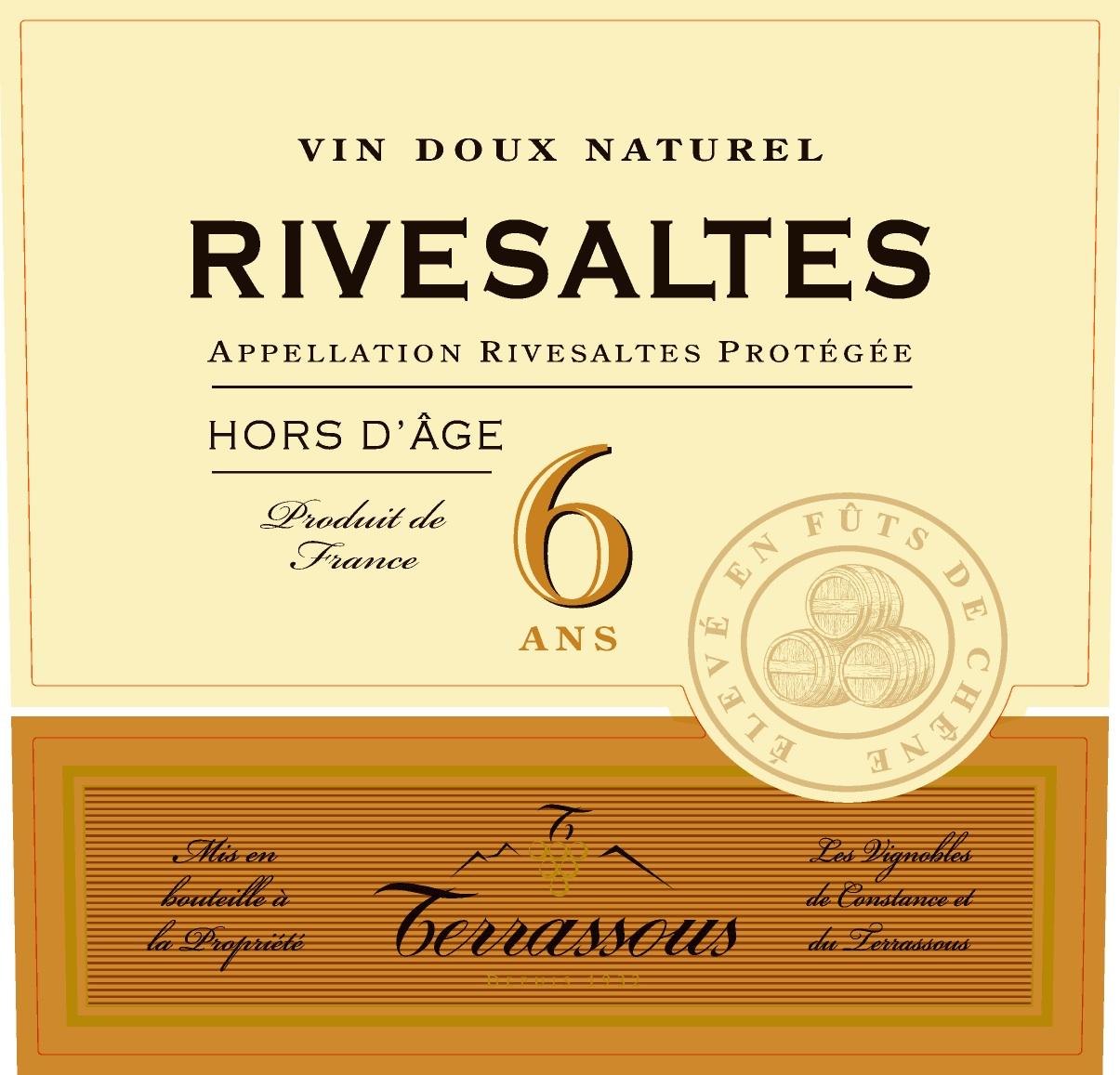 Terrassous Rivesaltes 6 Year