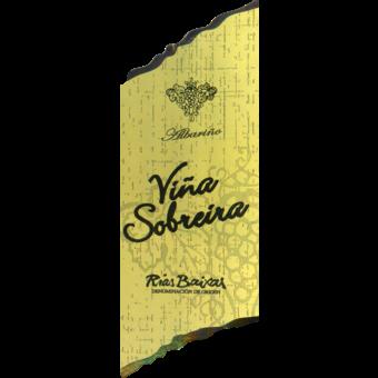 Label shot for 2014 Vina Sobreira Albarino Rias Baixas