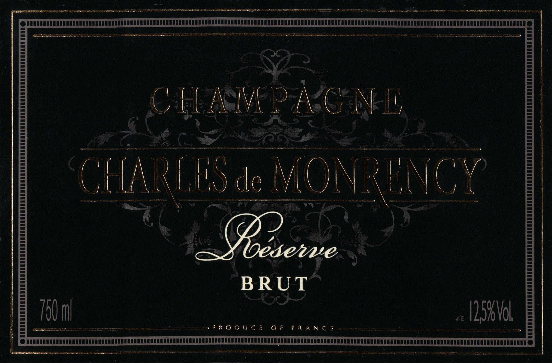 Charles De Monrency Brut Reserve