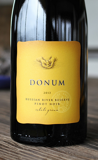 Donum Single Vineyard Reserve Pinot Noir Russian River Valley 2013