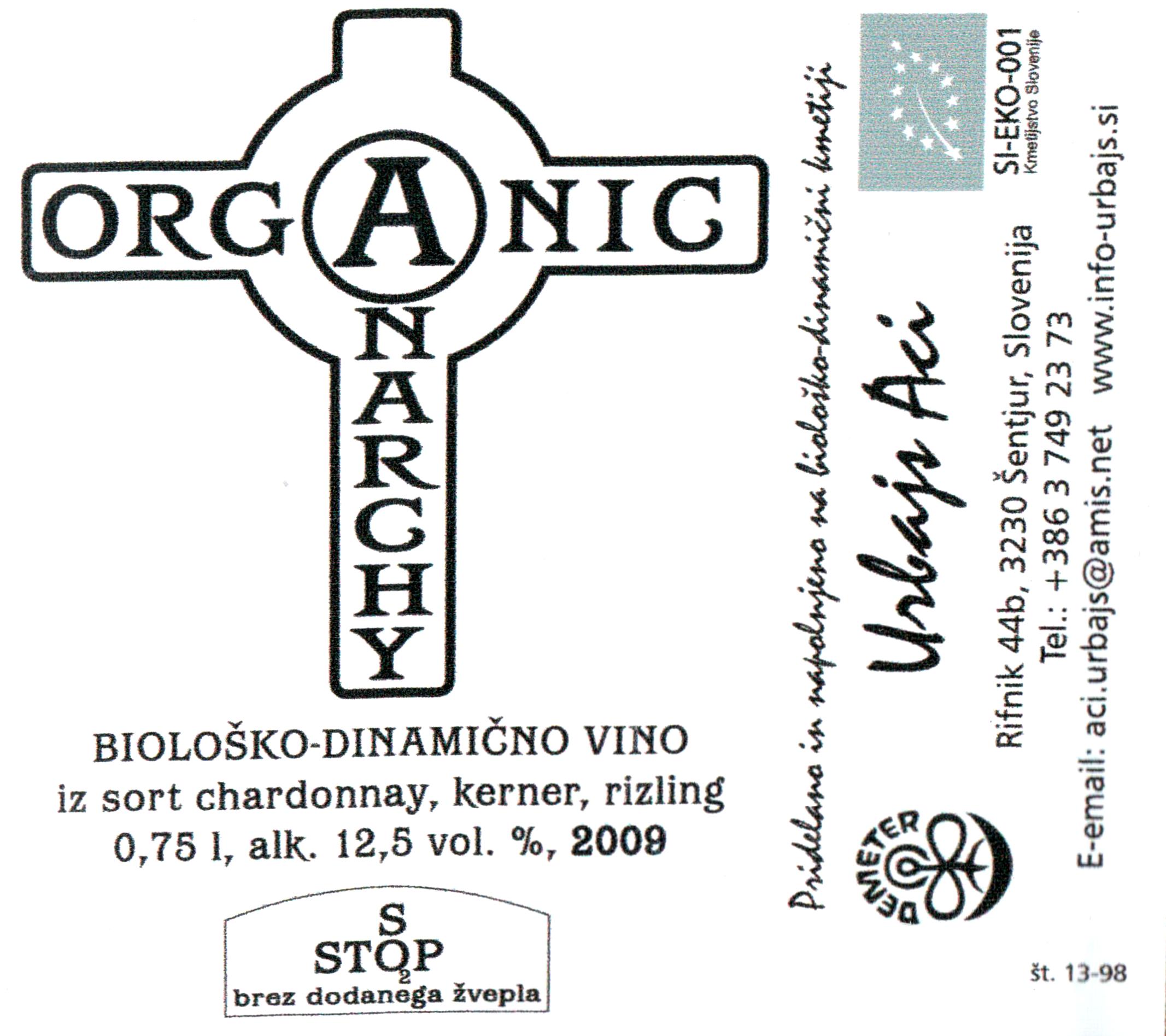 2009 aci urbajs anarchy orange wine wine library iphone label thumb iphone label thumb buycottarizona