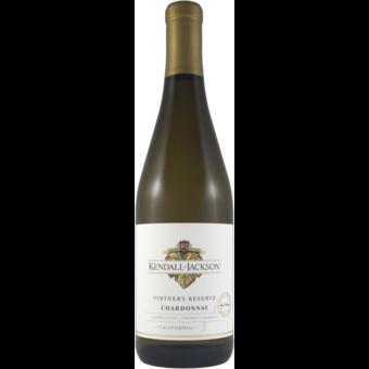 Bottle shot for 2019 Kendall Jackson Chardonnay Vintners Reserve