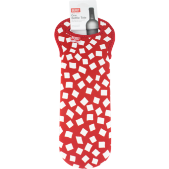 Bottle shot for  Built 1 Bottle Wine Tote Red Confetti