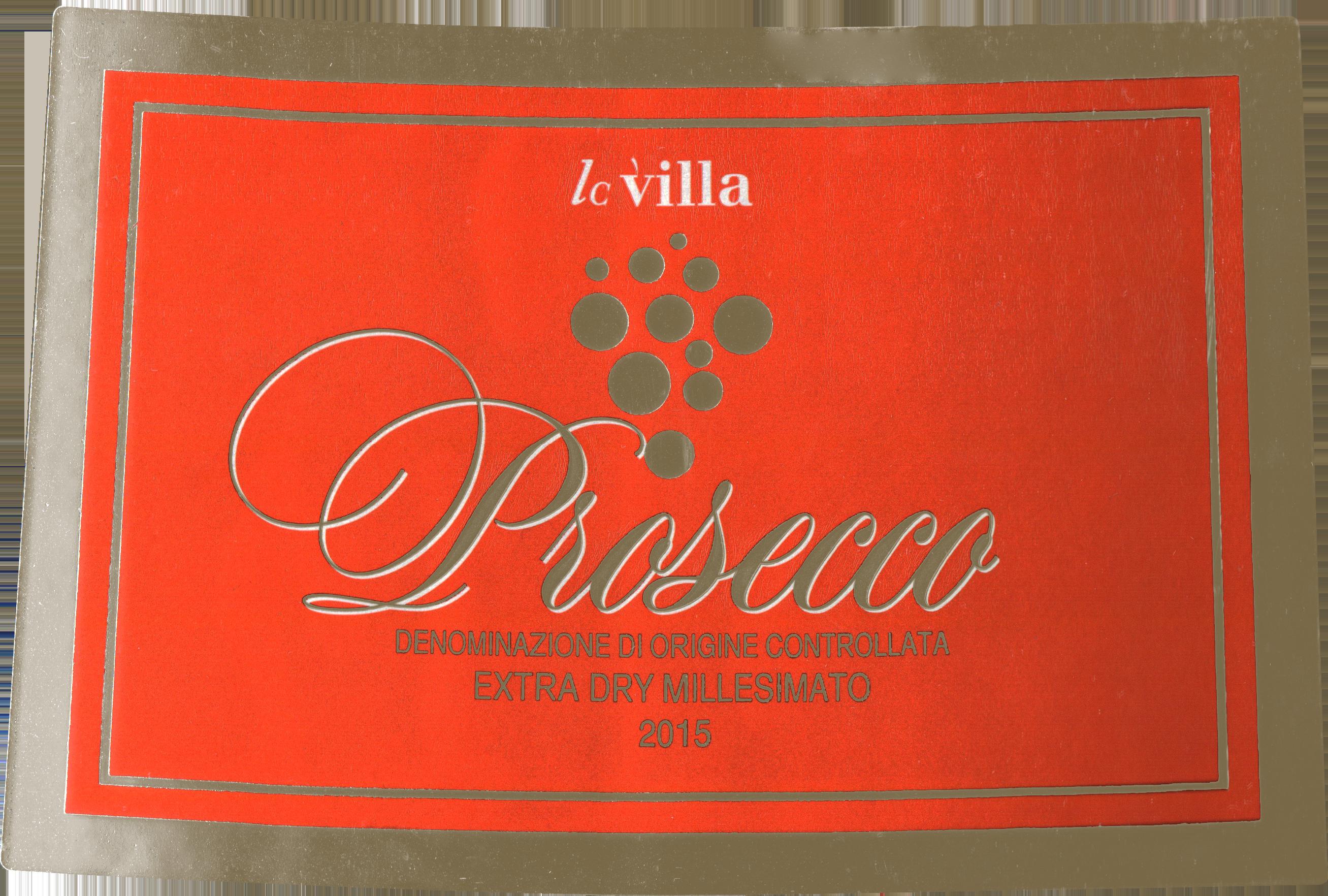 Lc Villa Prosecco Millesimato Extra Dry