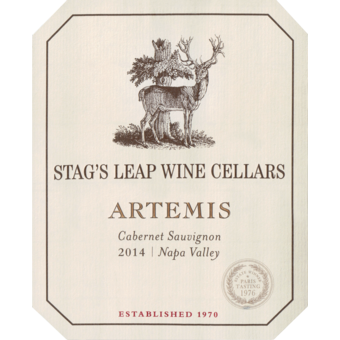 2014 Stags Leap W C Artemis Cabernet Sauvignon Wine Library