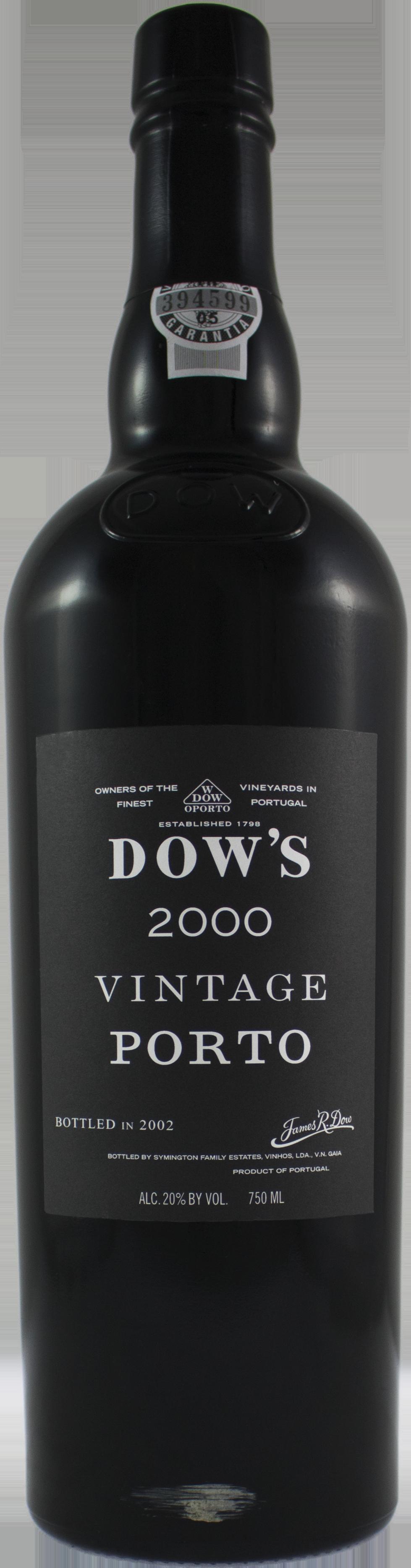 dow vintage port 2000