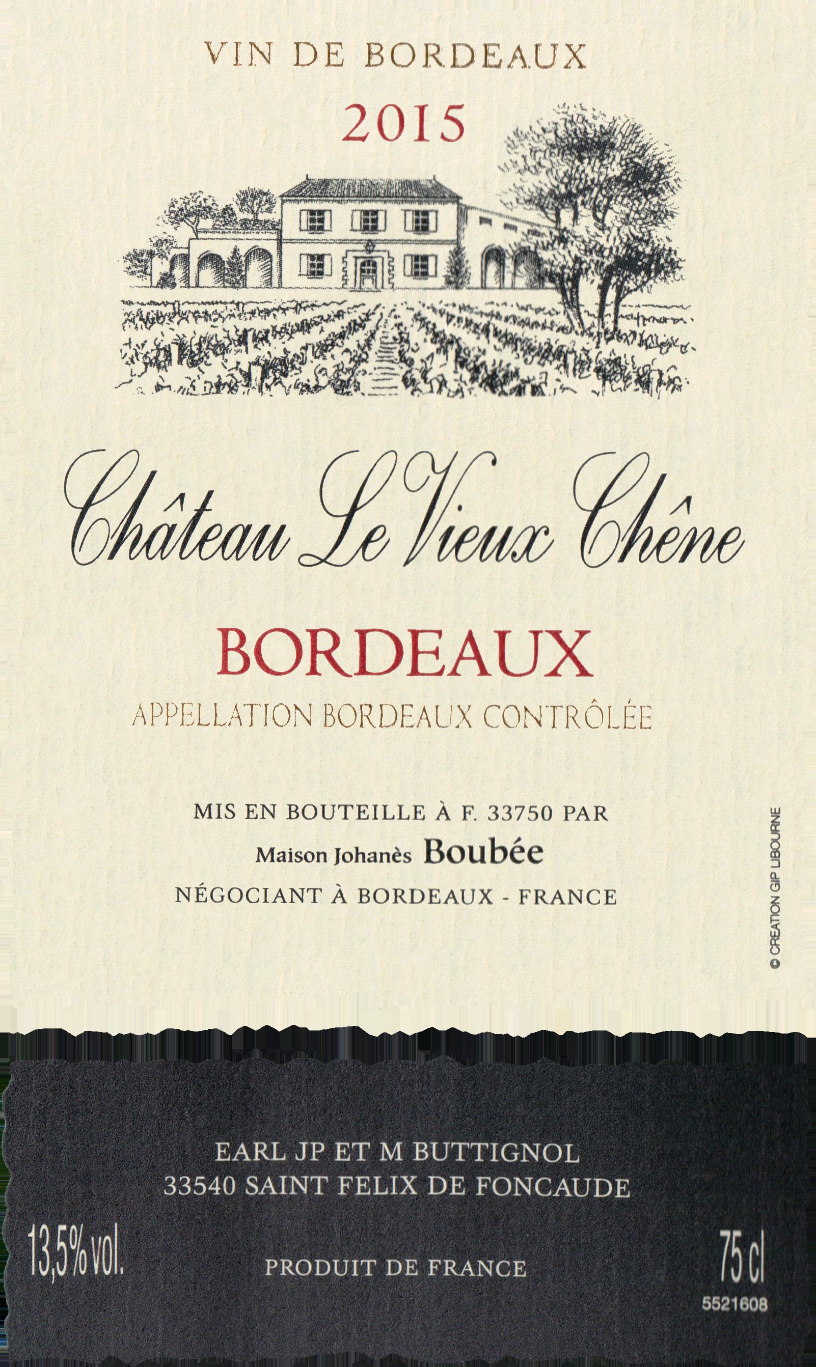 Chateau Vieux Chene 2015