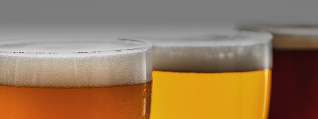 Decorative image of beer in glasses.